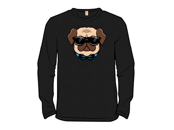 Hipster Pug T Shirt