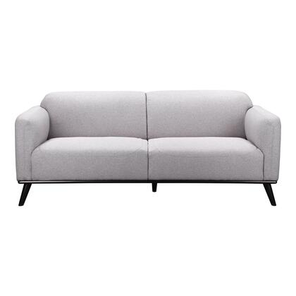 Peppy Collection FW-1006-15 Sofa with Eucalyptus and Plywood Frame in Gray