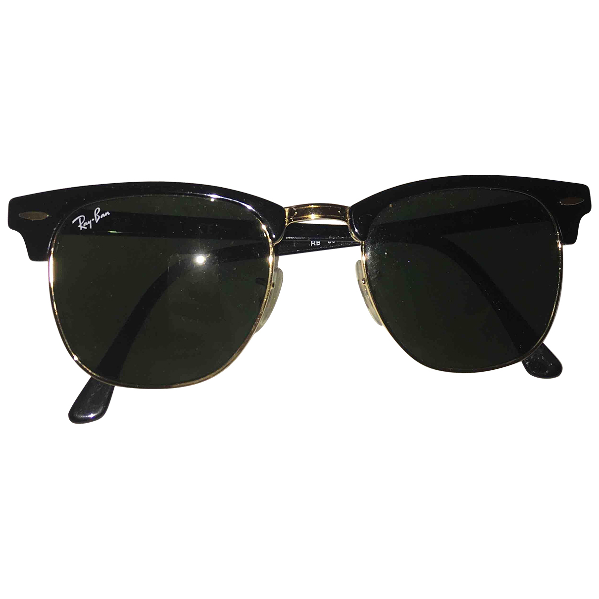 Ray-ban Clubmaster Black Sunglasses for Women \N