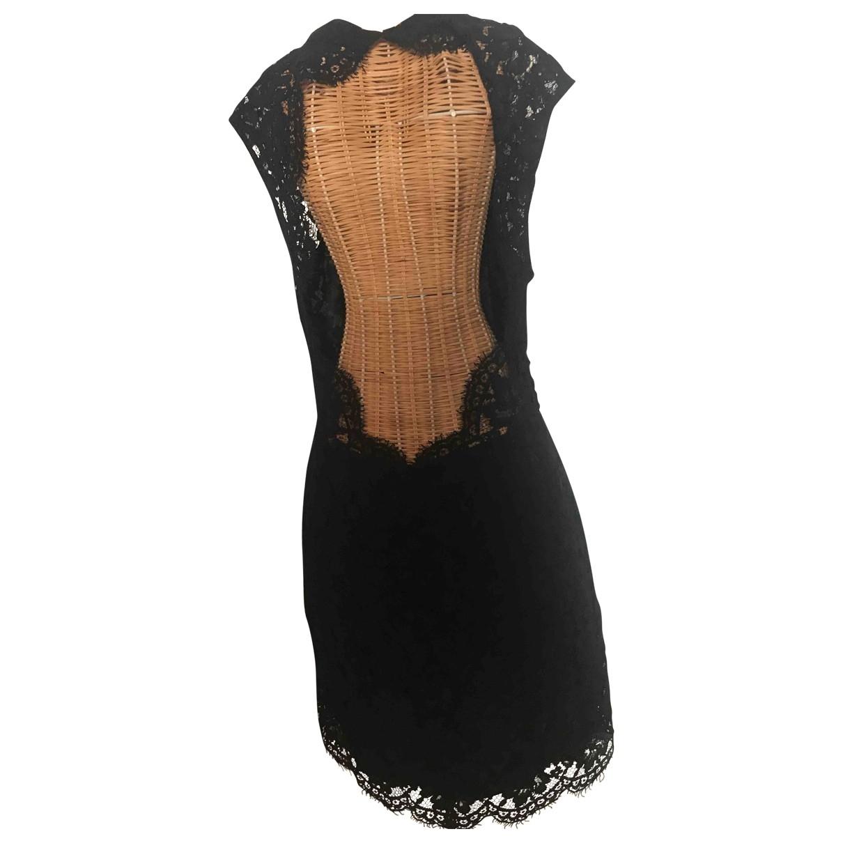 Sandro \N Black Lace dress for Women 38 FR