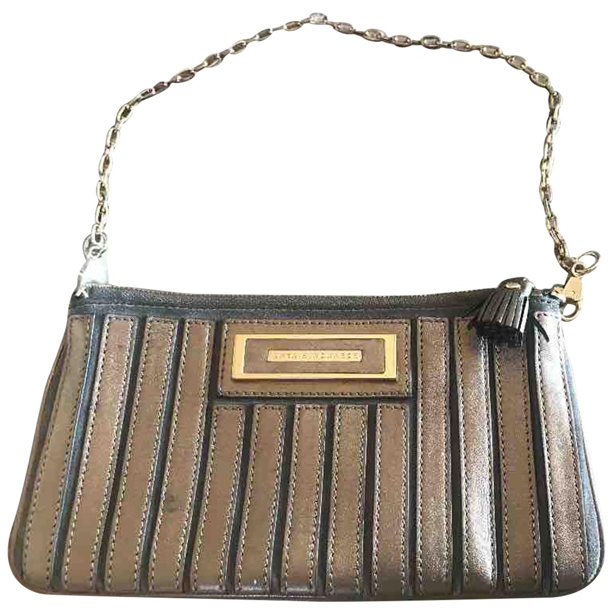 Anya Hindmarch \N Metallic Leather Clutch bag for Women \N