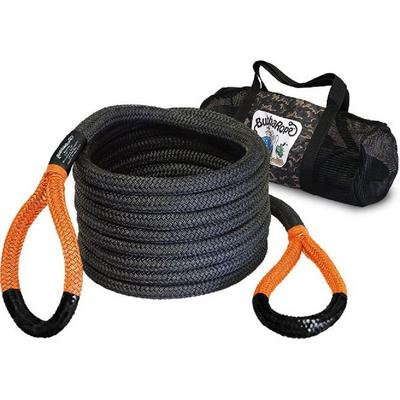 Bubba Rope 30-feet Black Power Stretch Recovery Rope (Orange Eye) - 176680ORG
