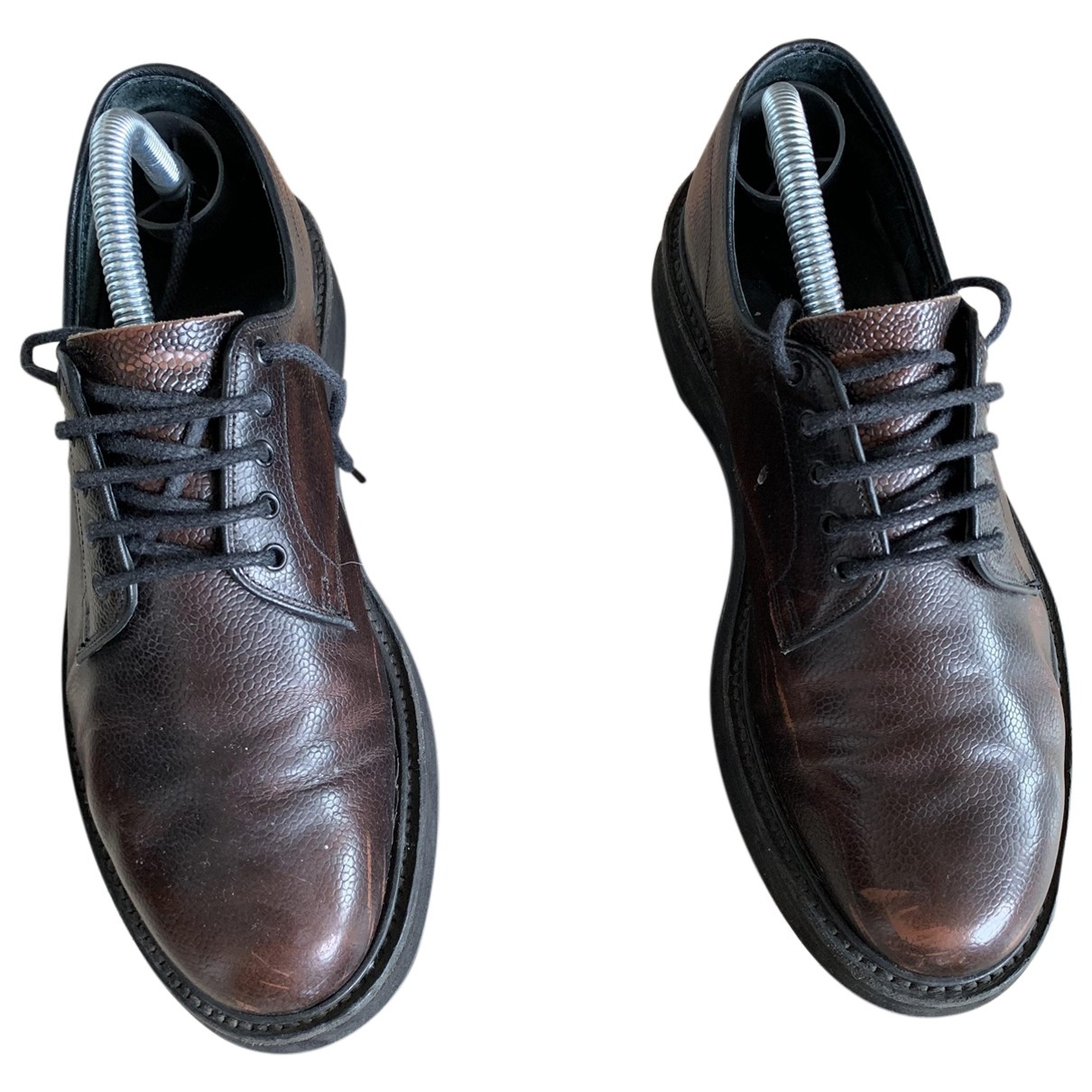 Church's \N Brown Leather Lace ups for Men 40.5 EU