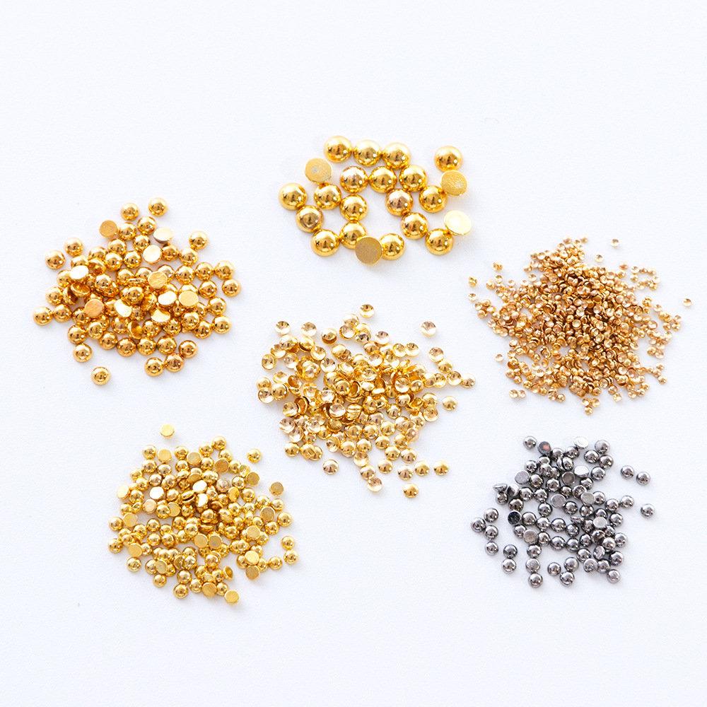 Star Moon Metal Nail Decoration Gold Sliver DIY Nail Decoration Manicure Tool