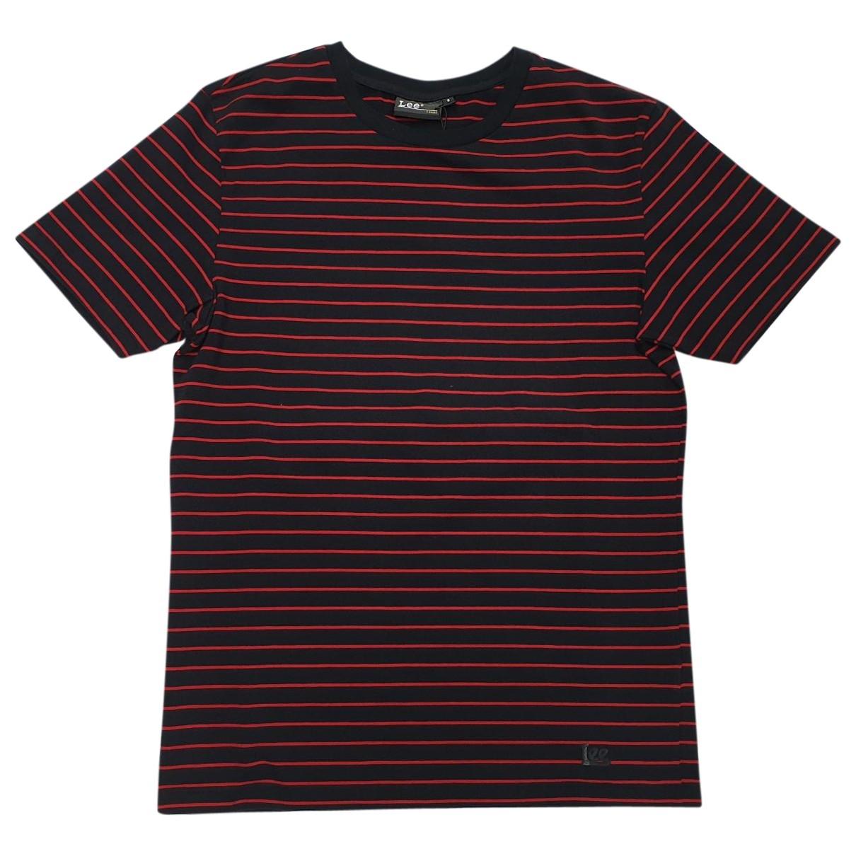 Lee \N Black Cotton T-shirts for Men S International