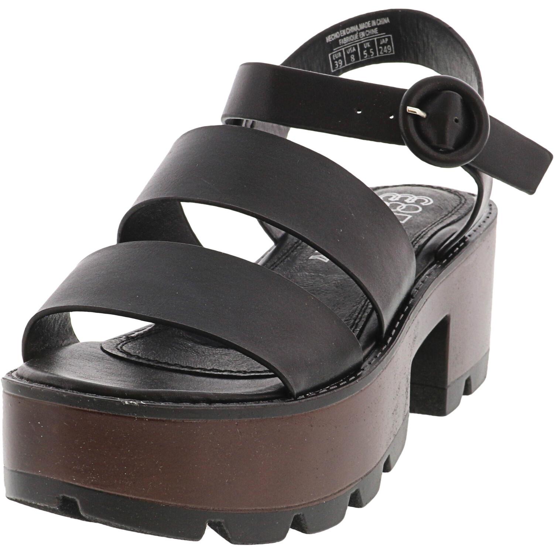 Coolway Women's Elsas Black Ankle-High Heel - 8M