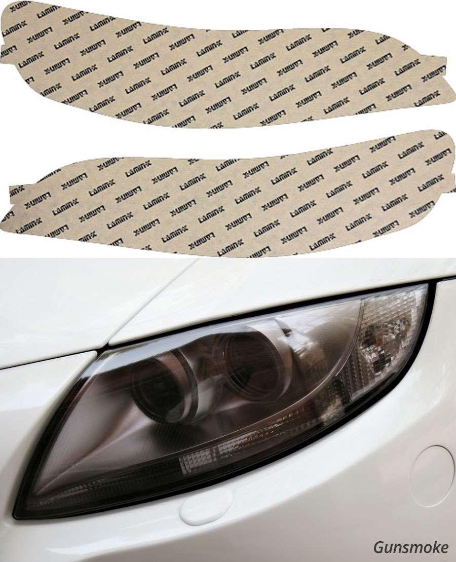 Honda Accord 98-02 Gunsmoke Headlight Covers Lamin-X H004G