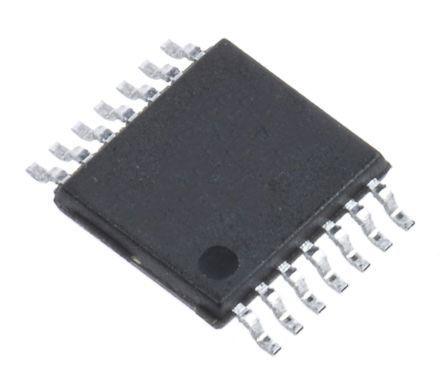 Maxim Integrated MAX9144EUD+ , Quad Comparator, 2.7 → 5.5 V 14-Pin TSSOP (96)