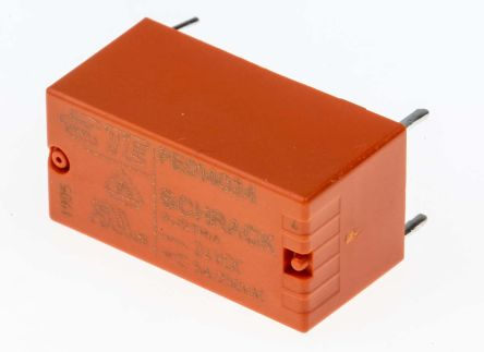 TE Connectivity , 24V dc Coil Non-Latching Relay SPDT, 5A Switching Current PCB Mount Single Pole