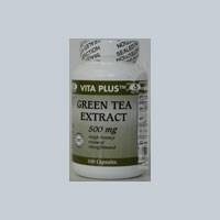 Green Tea Extract Decaff 100 CAPS by Vita plus