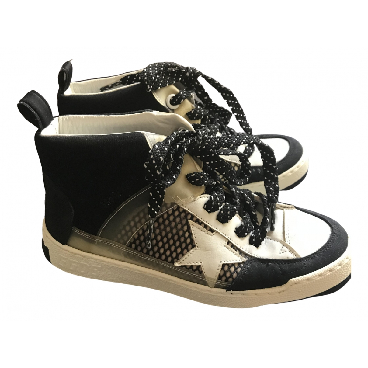 Golden Goose \N White Leather Trainers for Women 35 EU