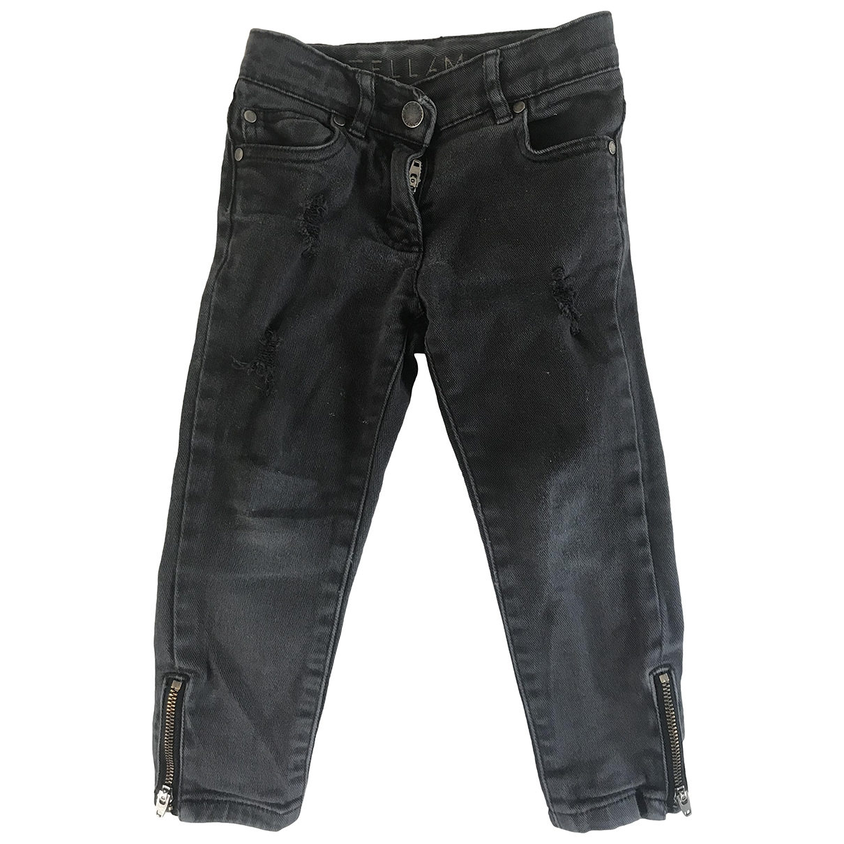 Stella Mccartney Kids \N Navy Denim - Jeans Trousers for Kids 3 years - until 39 inches UK