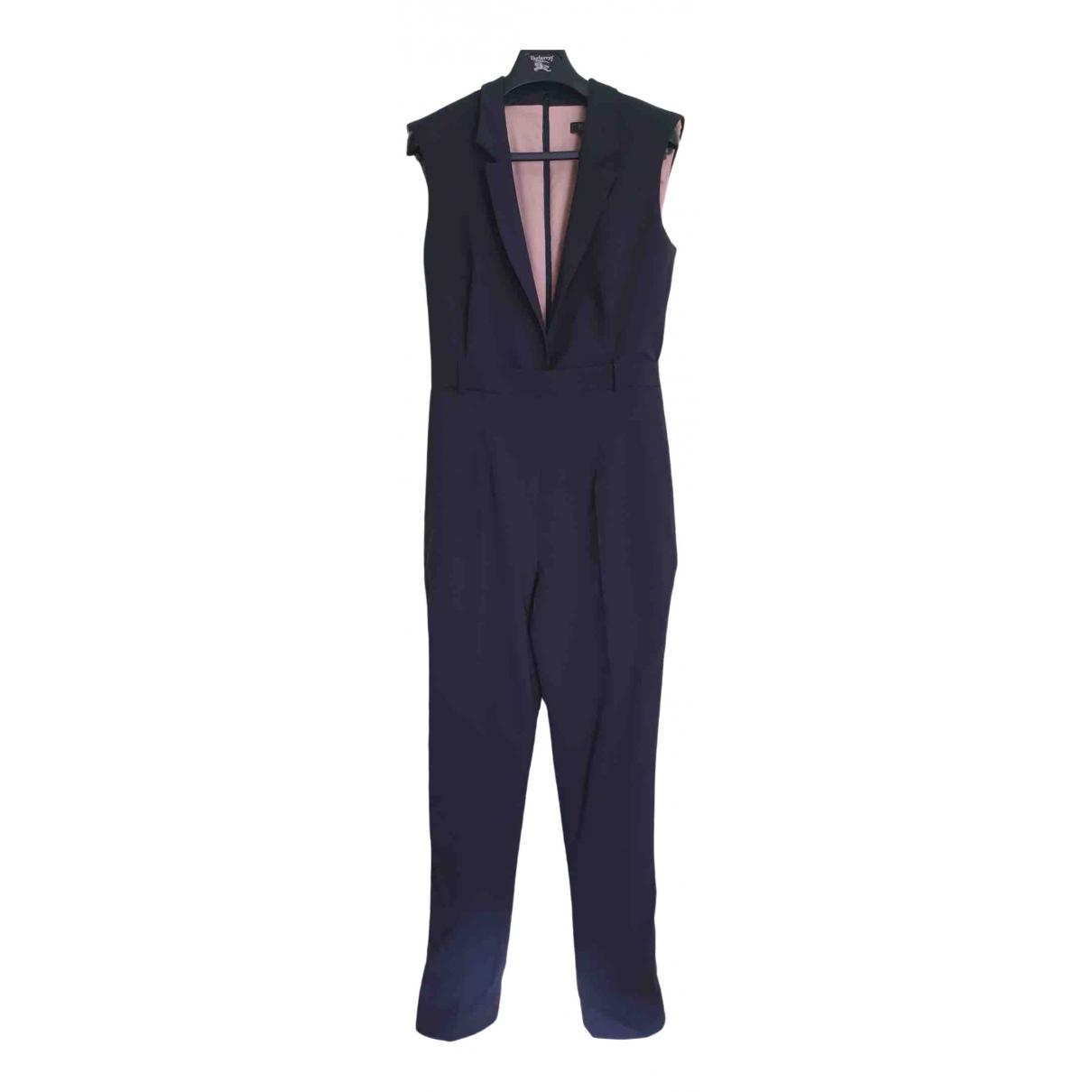 Marios Schwab \N Navy Wool jumpsuit for Women 8 UK