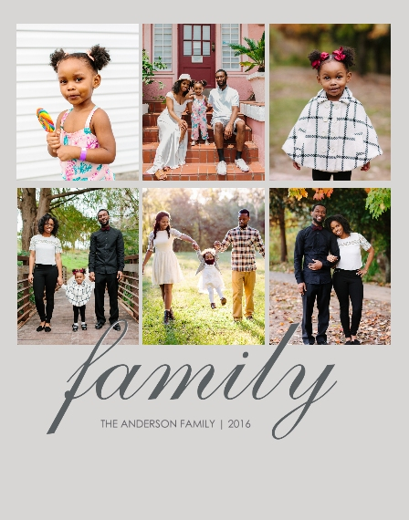 Family + Friends 11x14 Adhesive Poster, Home Décor -Family Classic
