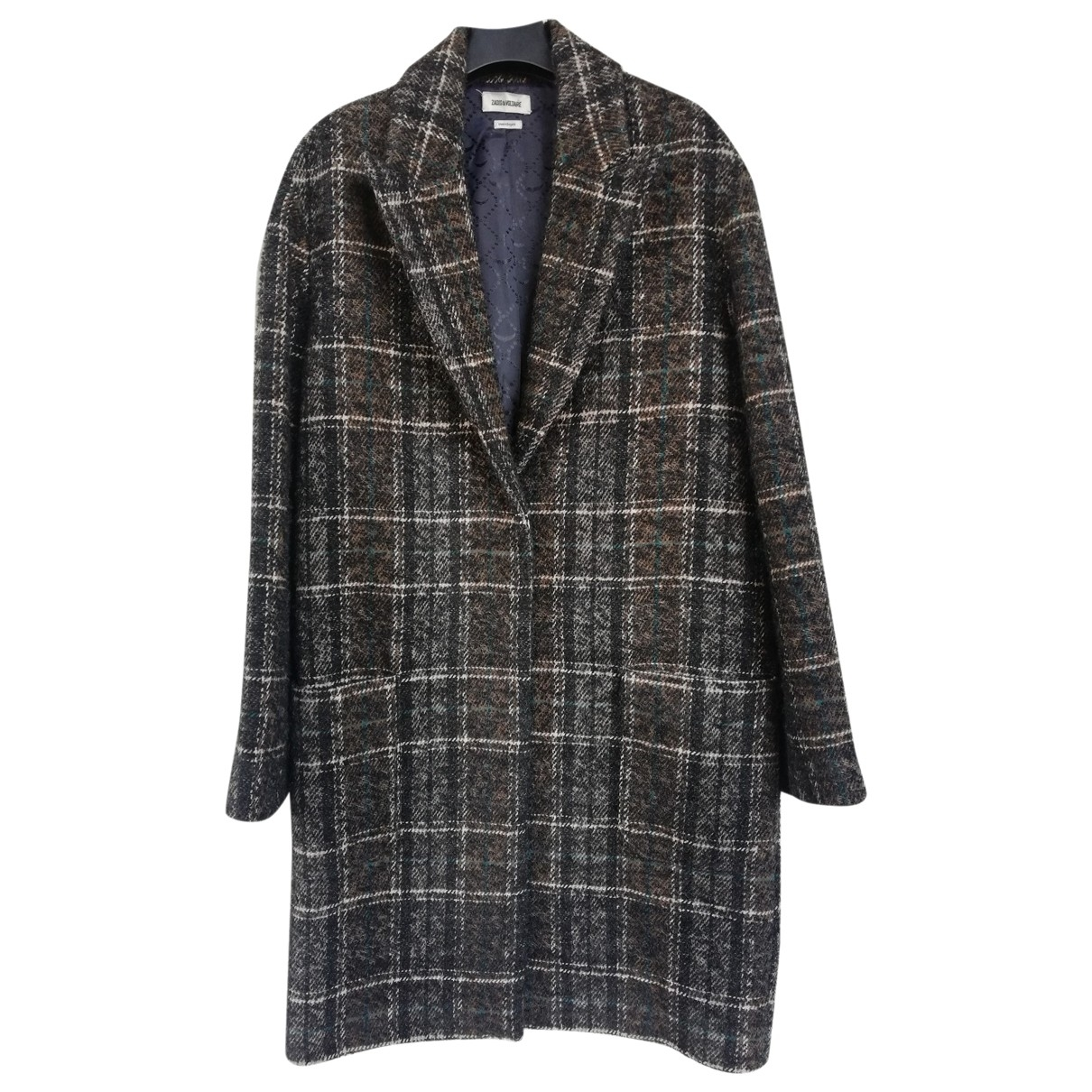 Zadig & Voltaire \N Multicolour Wool coat for Women S International