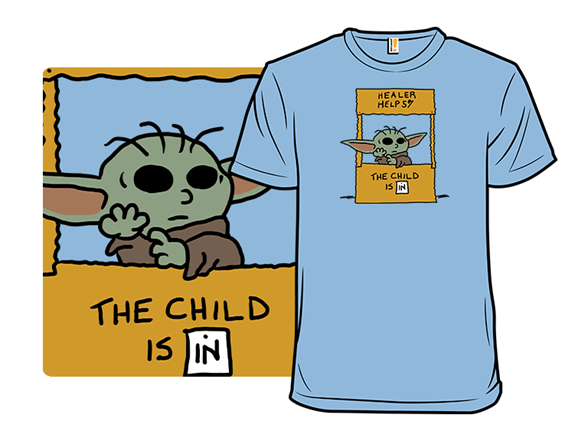 The Child Is In T Shirt