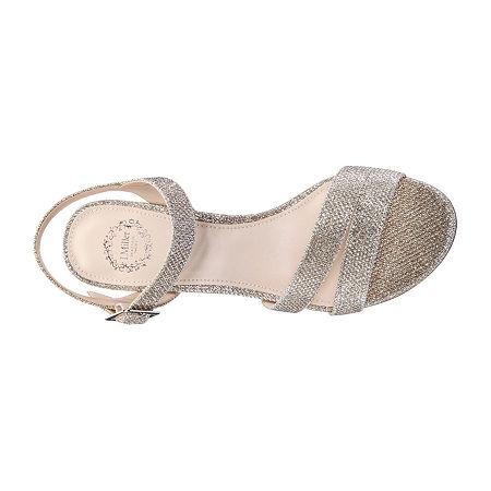 I. Miller Womens Niobe Heeled Sandals, 8 1/2 Medium, Brown