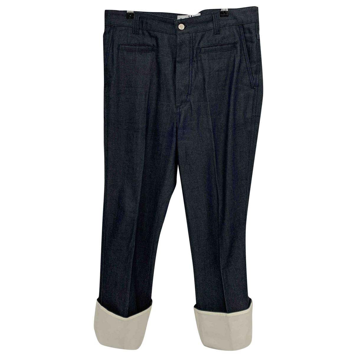 Loewe \N Blue Cotton Jeans for Men 42 FR
