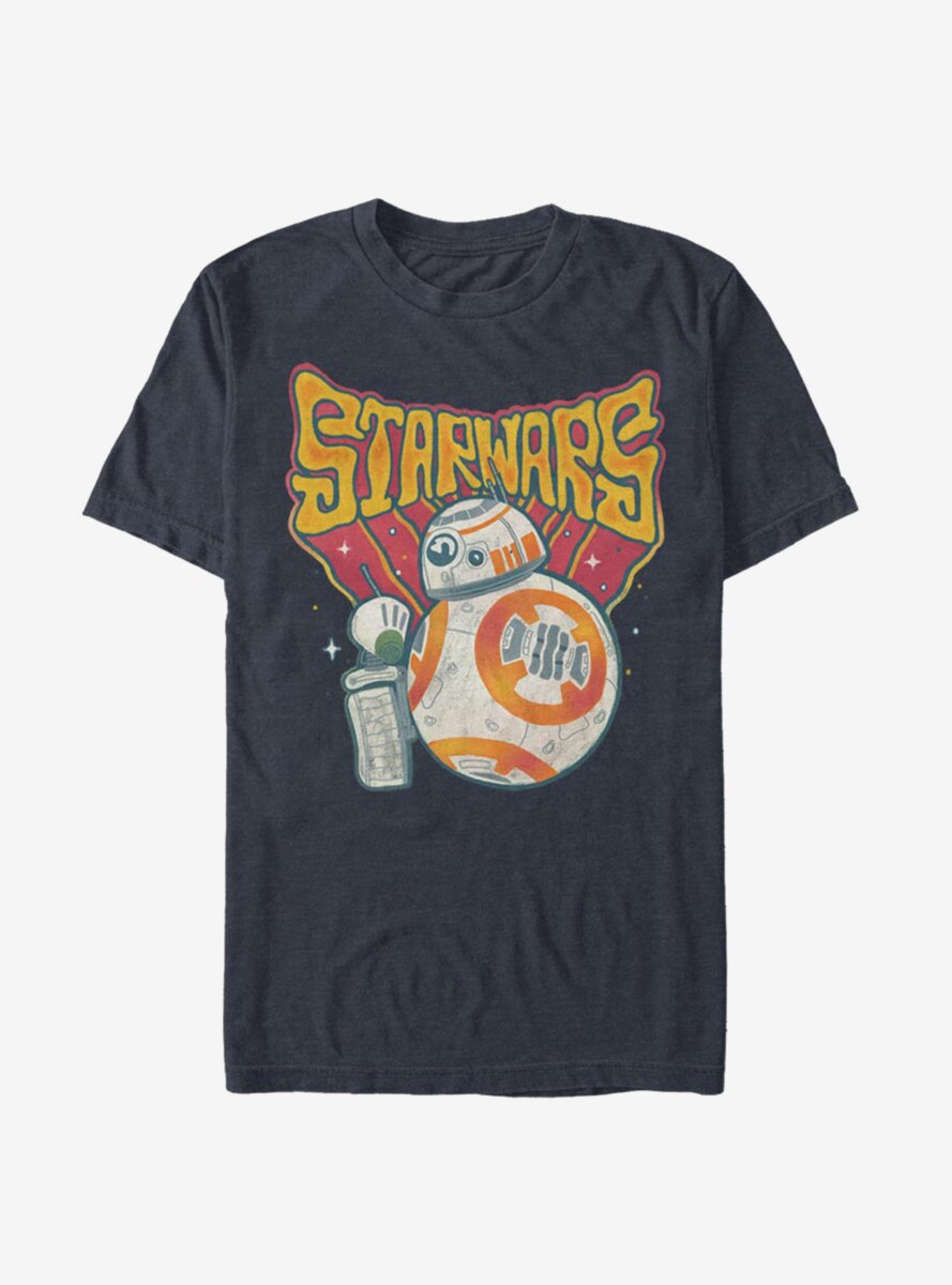 Star Wars Episode IX The Rise Of Skywalker Vibrant BB-8 T-Shirt
