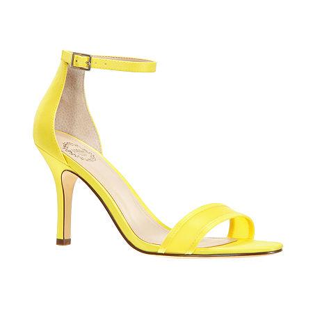 I. Miller Womens Vasily Heeled Sandals, 7 Medium, Yellow