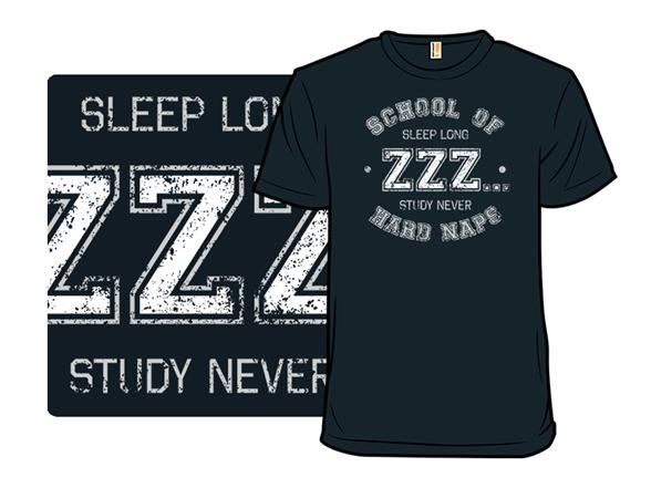 School Of Hard Naps Tank Top