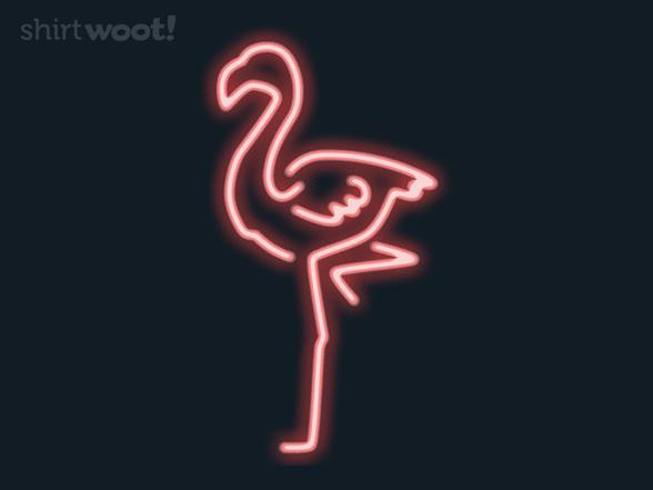 Cool Flamingo T Shirt