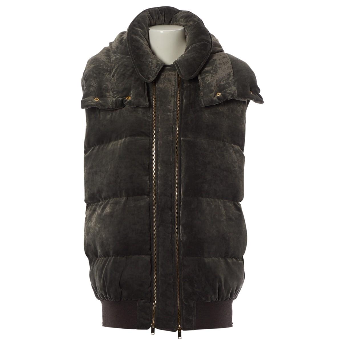Stella Mccartney \N Grey Wool coat for Women 36 FR