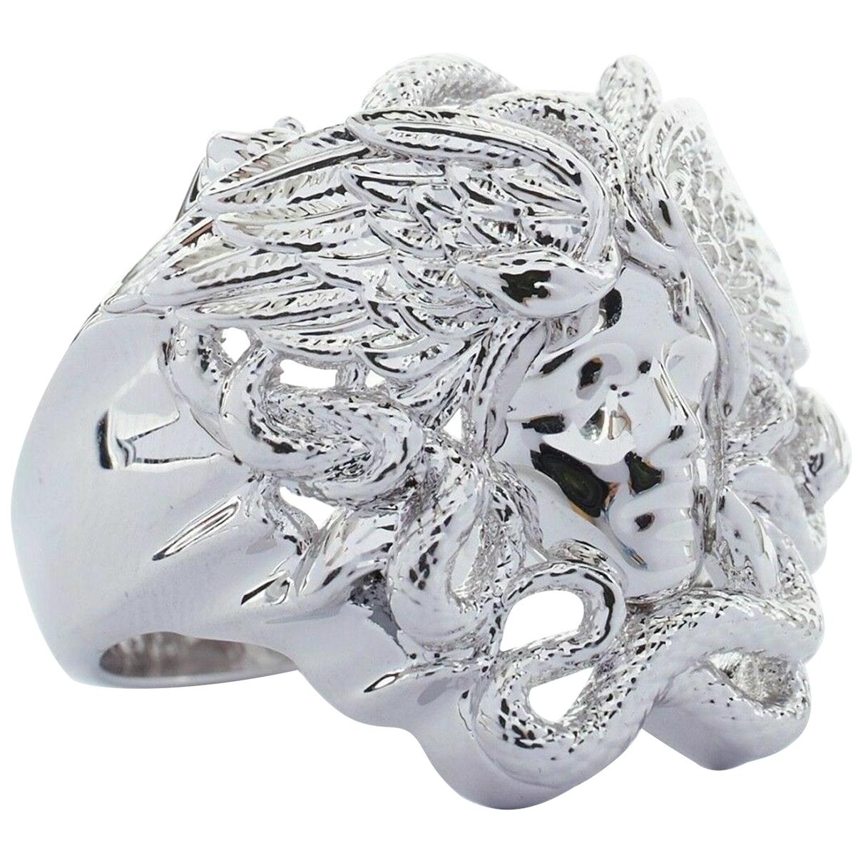 Versace \N Silver ring for Women \N