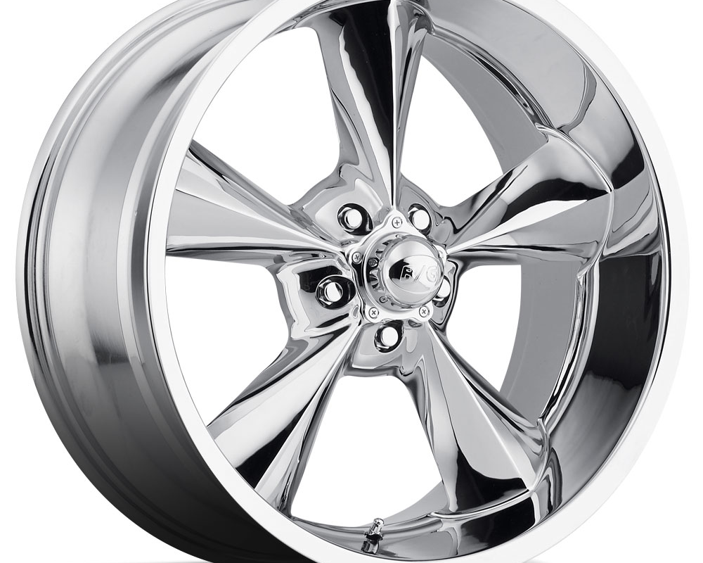 B/G Rod Works Wheels OS 770-5114-00 C Old School Wheel 17x7 5x114.3 0mm Chrome