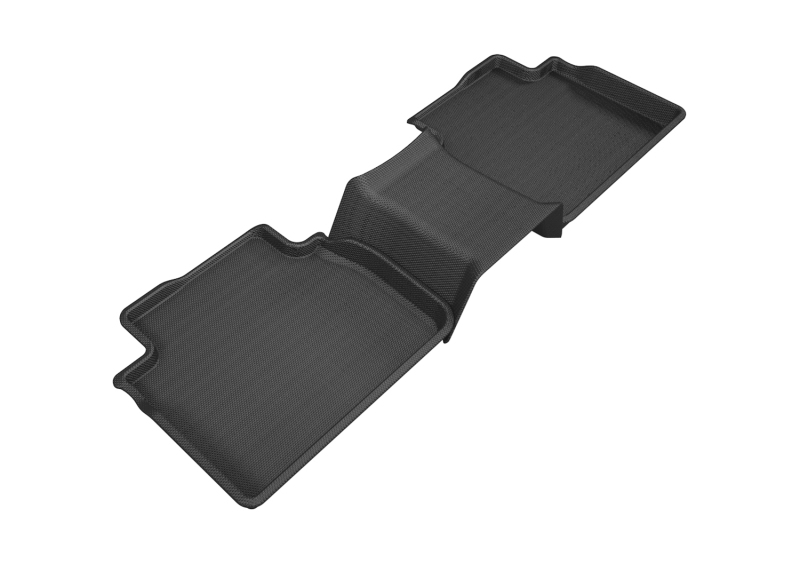 3D MAXpider 2018-2020 Toyota Camry Kagu 2nd Row Floormats - Black
