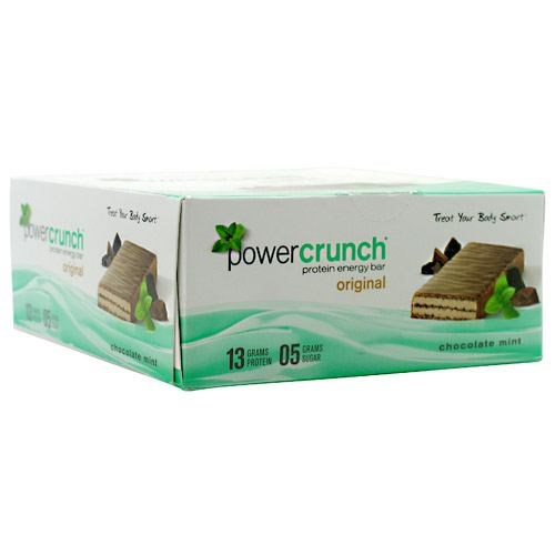 Power Crunch Chocolate Mint 1.4 oz(Pack of 12) by Power Crunch