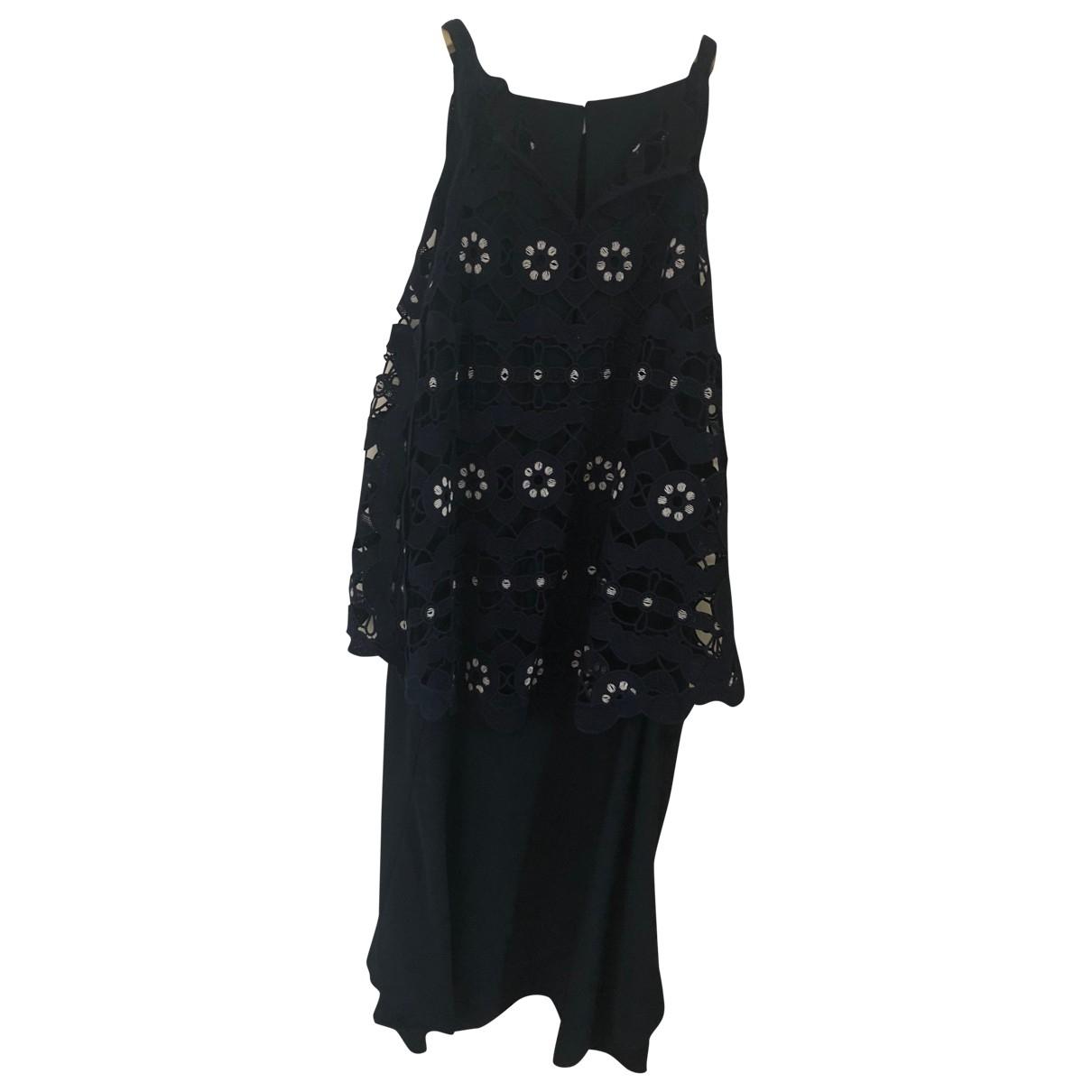 Chloé \N Navy Silk dress for Women 38 FR