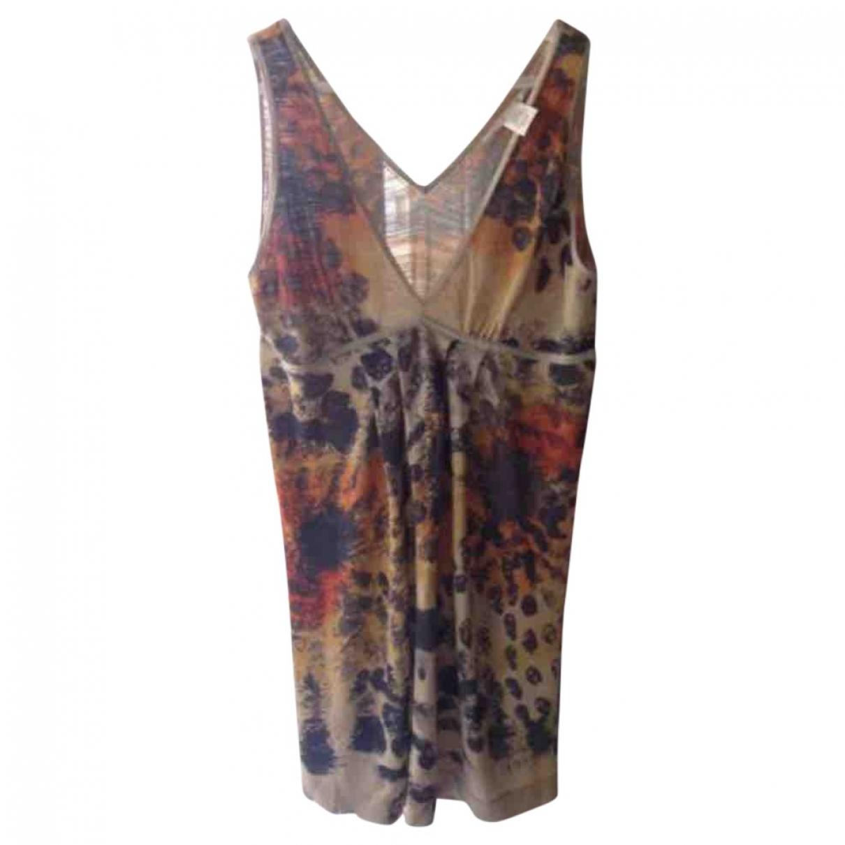 Diane Von Furstenberg \N Multicolour Cotton dress for Women L International