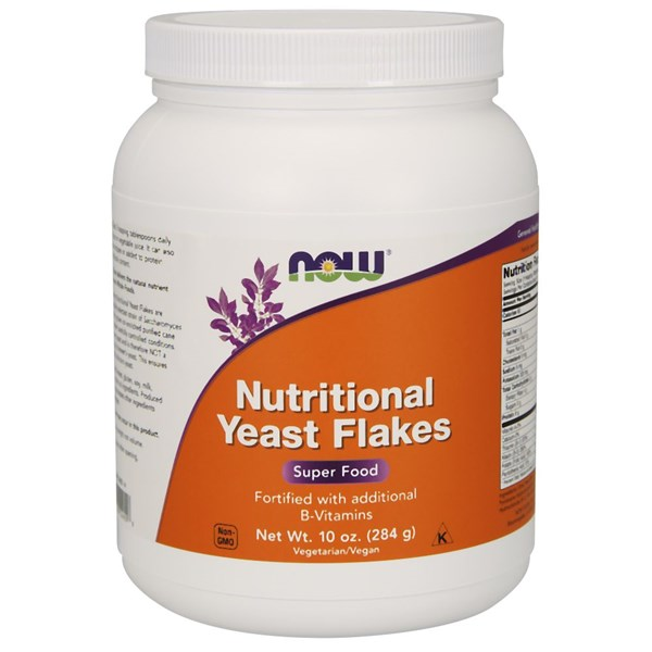 Nutritional Yeast 10 OZ by Now Foods