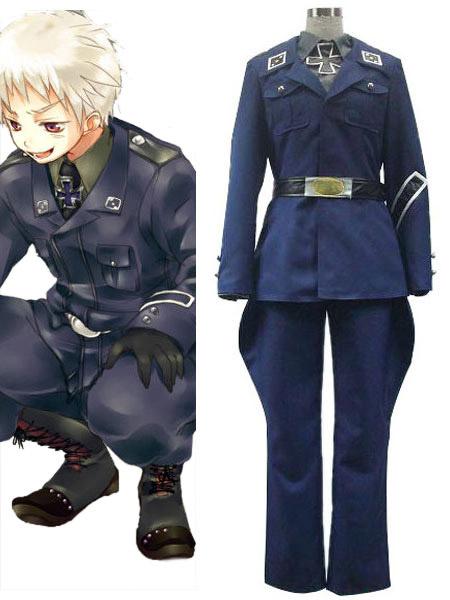 Milanoo Axis Powers Hetalia Prussia Halloween Cosplay Coatume Halloween