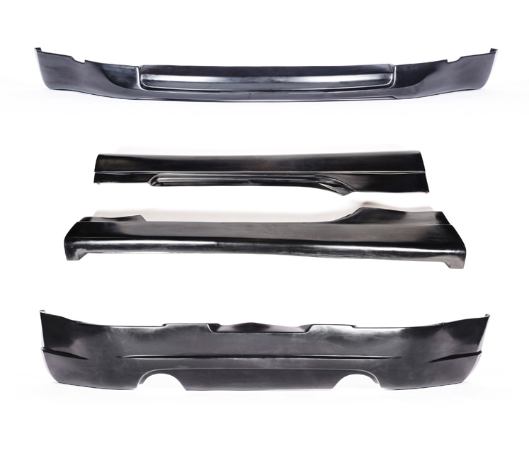 KBD Bodykits 37-2107 ING Style 4 Piece Full Body Kit Nissan 350Z 03-05