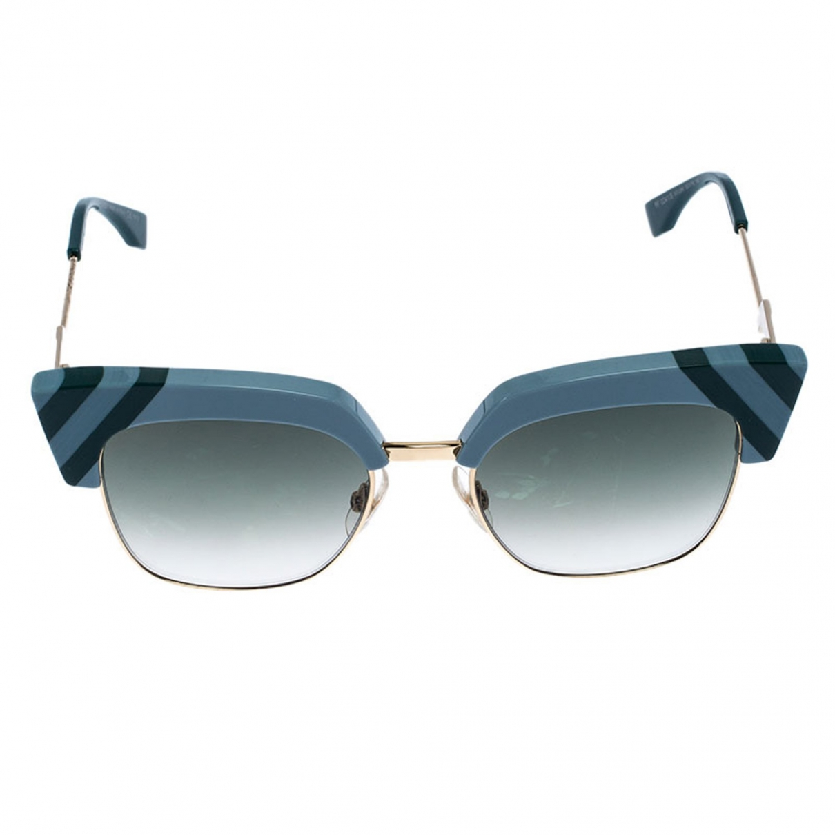 Fendi \N Green Sunglasses for Women \N