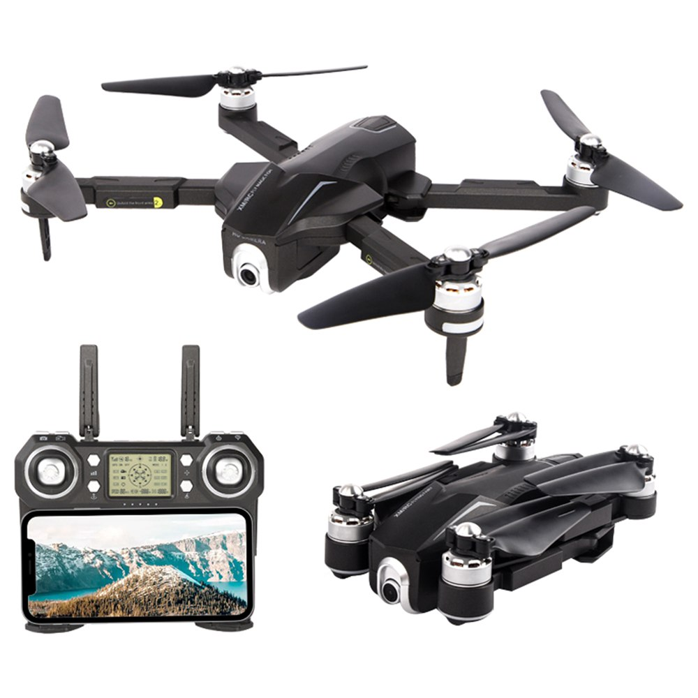 XMR/C M8 4K Brushless Foldable RC Drone RTF One Battery With Bag