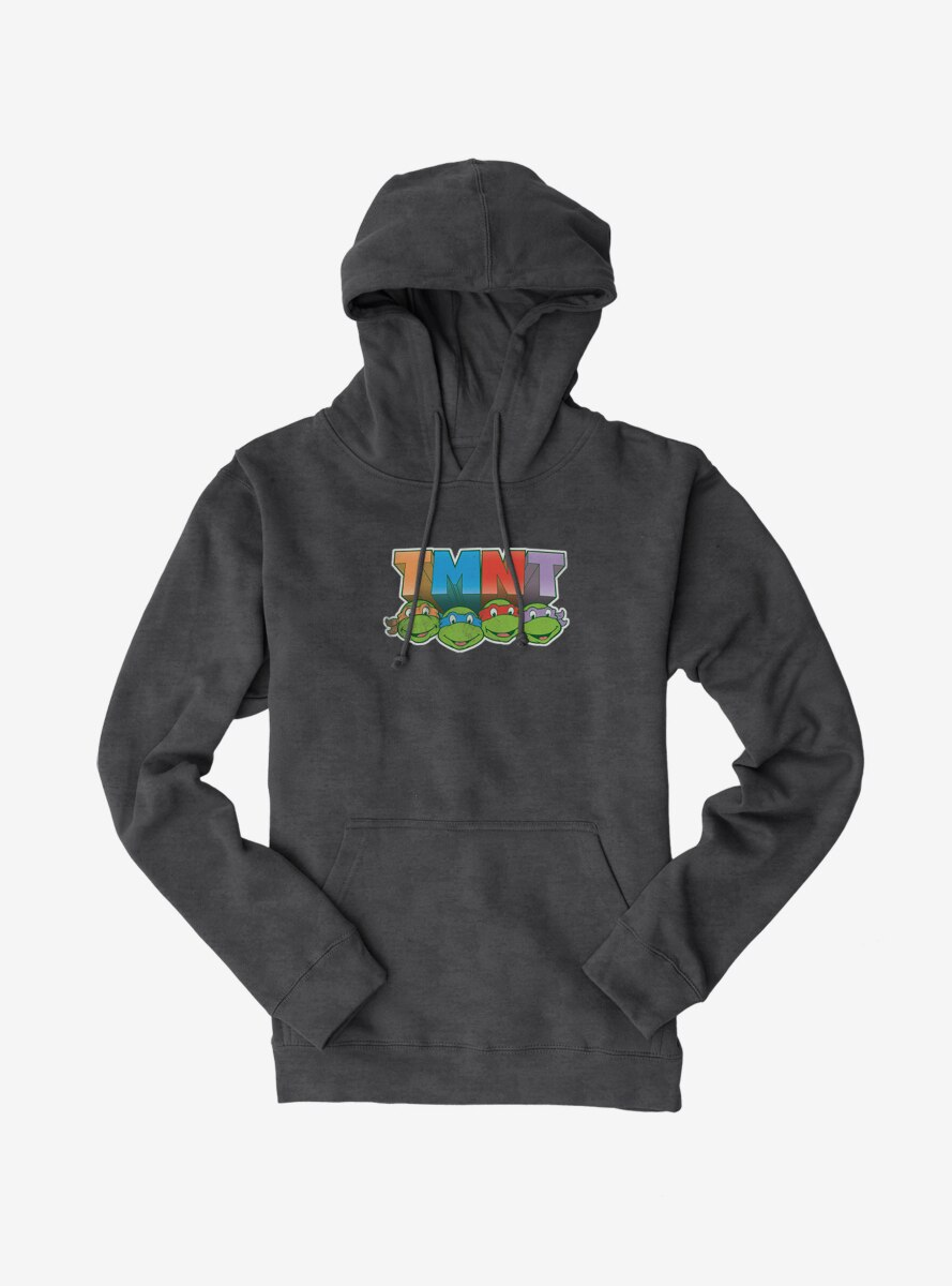 Teenage Mutant Ninja Turtles Acronym Block Letters Hoodie