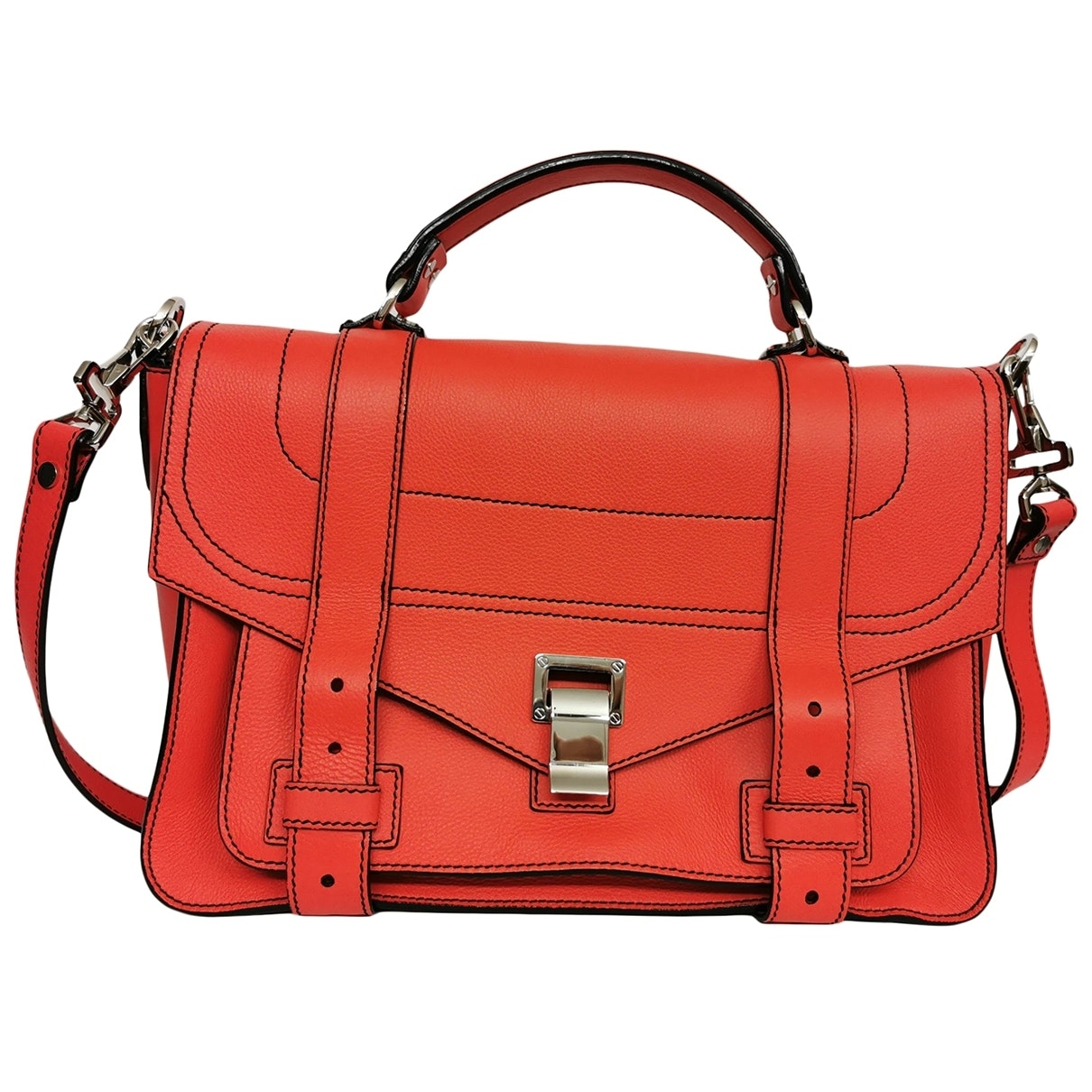 Proenza Schouler PS1 Red Leather handbag for Women \N