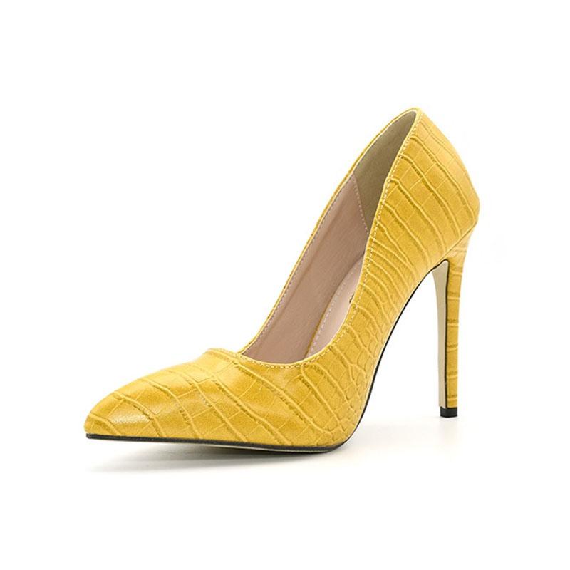 Ericdress Stiletto Heel Thread Pointed Toe Ultra-High Heel Pumps