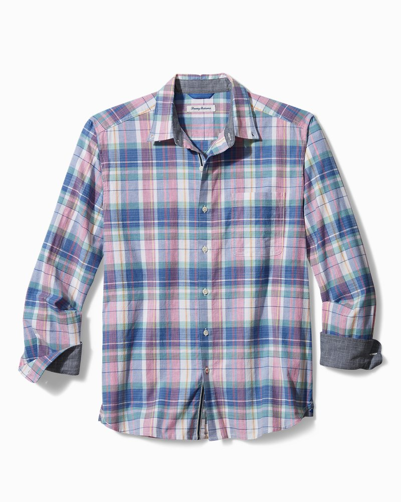 Oxford Isles Madras Stretch Shirt