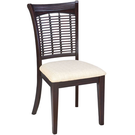 Everwood Dining Chair-Set of 2, One Size , Brown