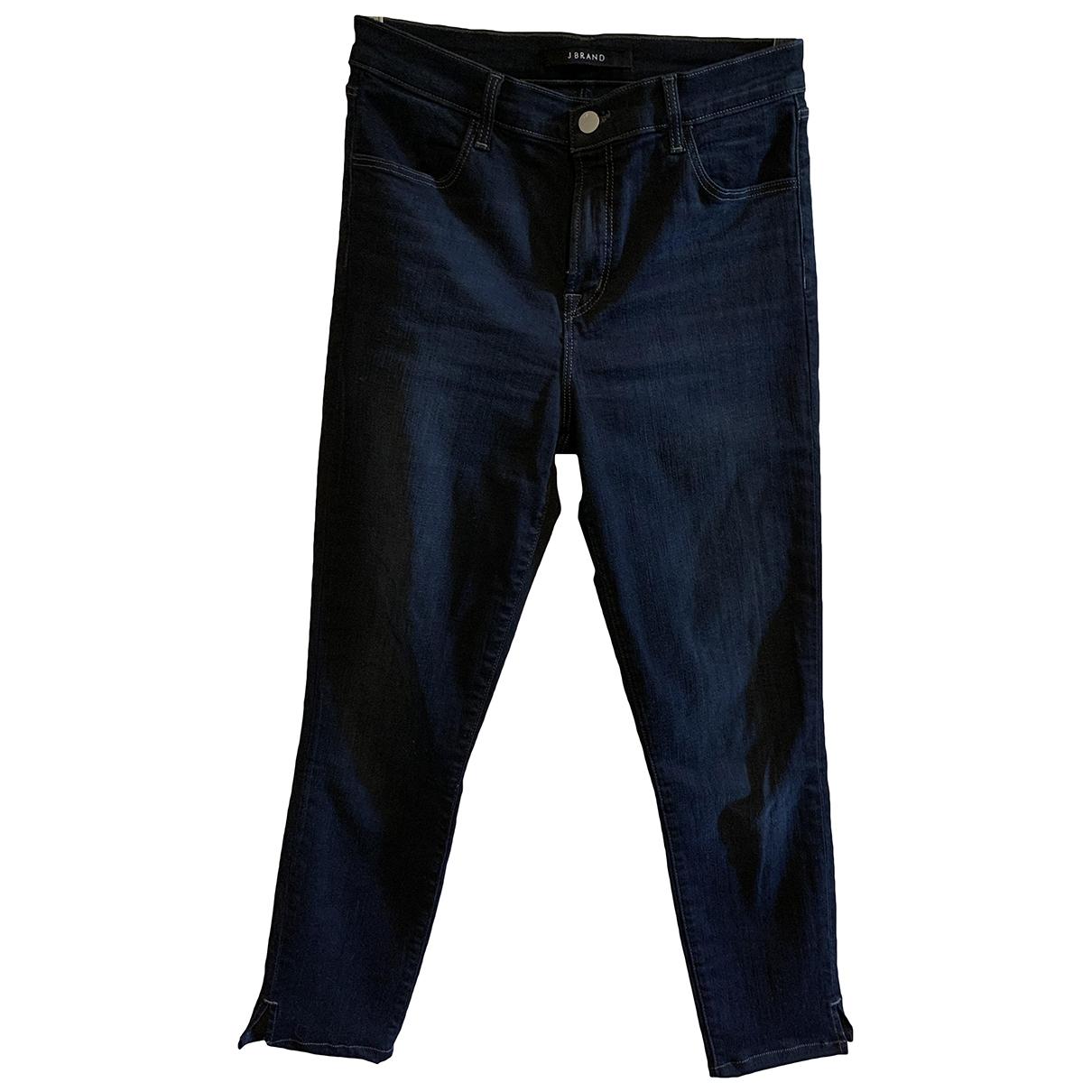 J Brand \N Navy Cotton - elasthane Jeans for Women 28 US