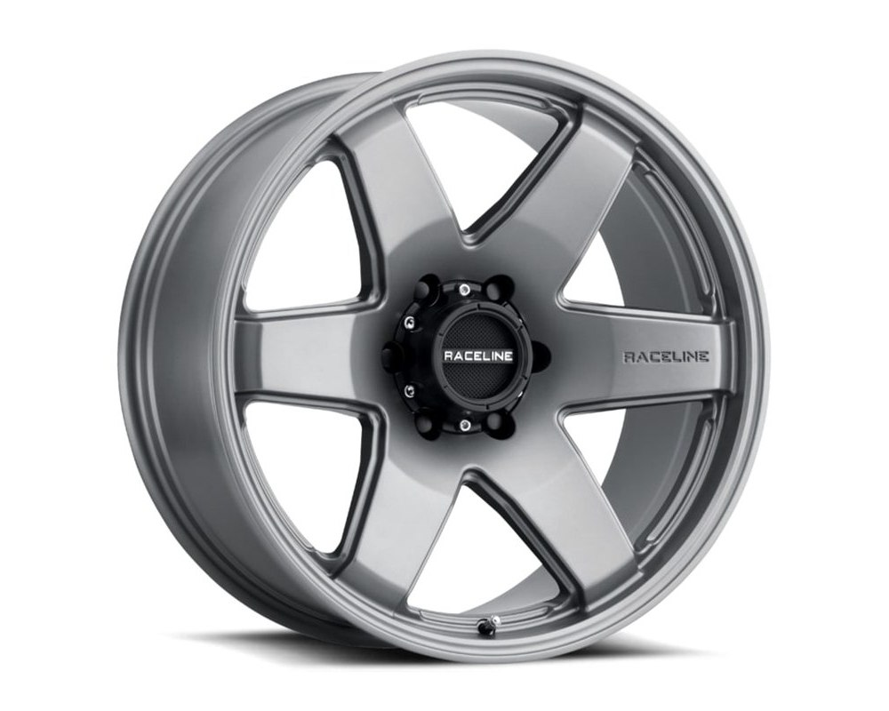 Raceline 942GS Addict Greystone Wheel 22X9.5 6X139.7 35mm