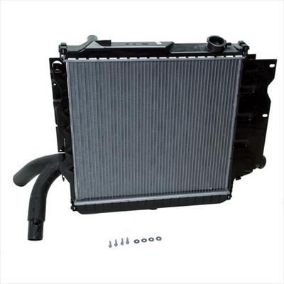 Omix-ADA Replacement 2 Core Radiator for 4 and 6 Cylinder Engine with Manual Transmission - 17101.14