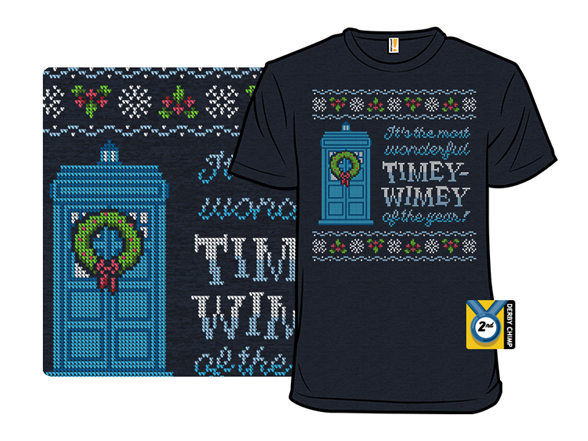 Timey-wimey Sweater T Shirt