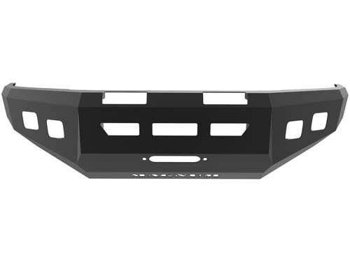 Tacoma Front Winch Bumper 05-14 Toyota Tacoma Dbl 3.5inch Square Light Holes Magnum Standard Series ICI Innovative Creations FBM90TYN