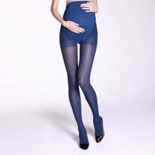 200D Geo Pattern Pregnant Women Mesh Tight