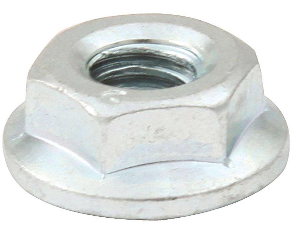 Allstar Performance ALL18557 Spin Lock Nuts 10pk Silver ALL18557